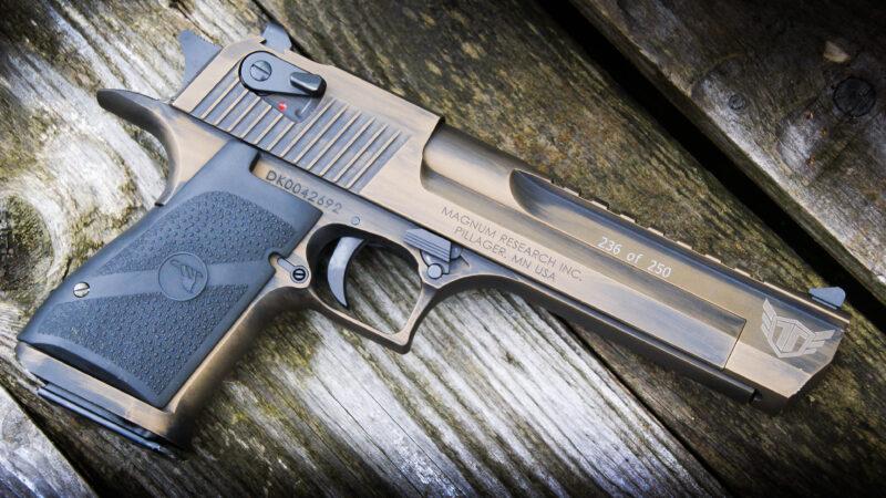 Pistolet Desert Eagle- dla myśliwych i artylerzystów