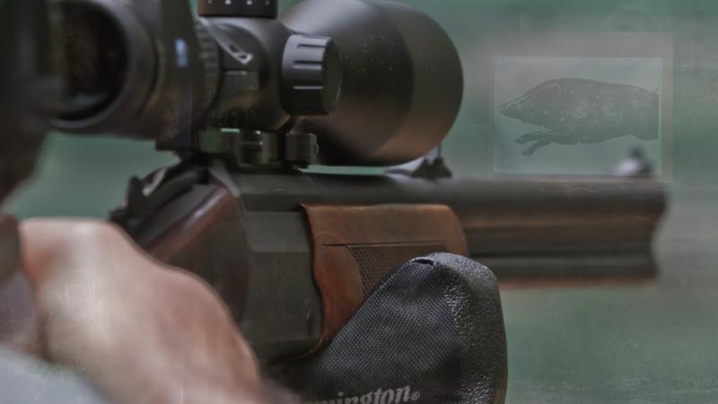 Strzelanie amunicją myśliwską przez przeszkody terenowe- TEST