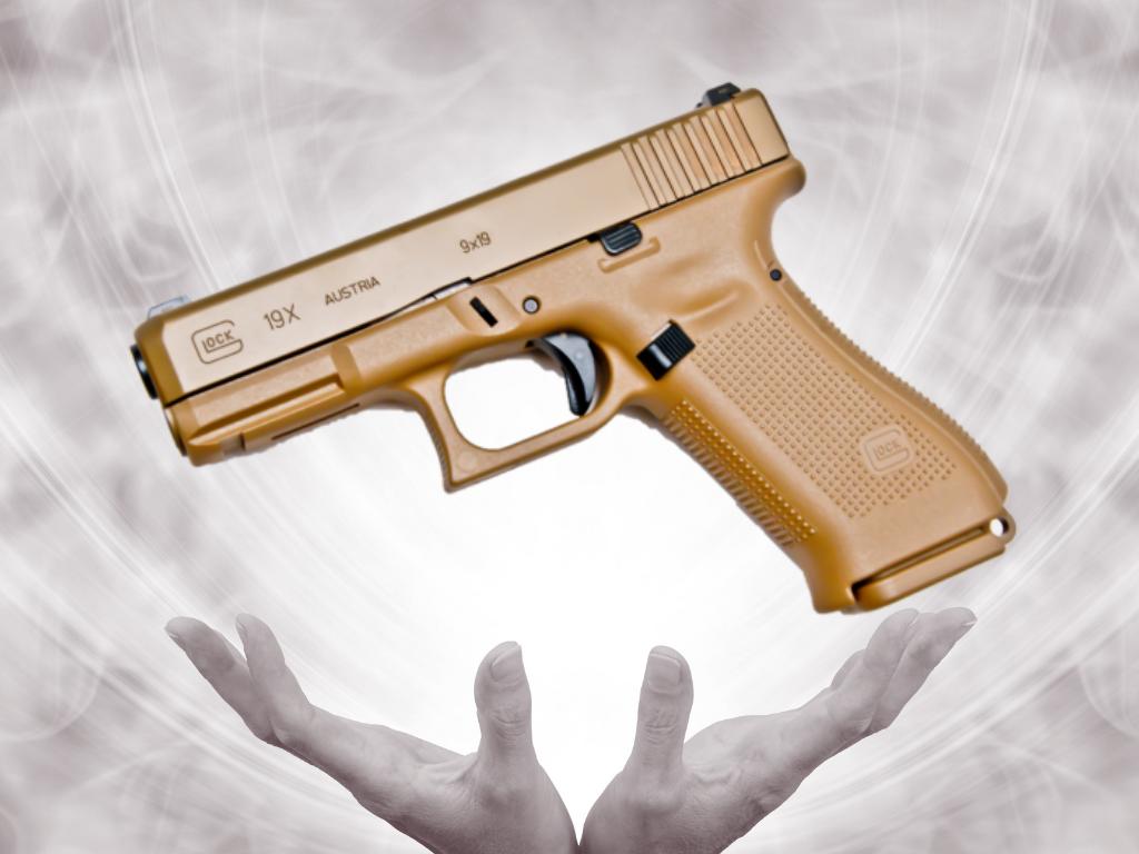 Złoty, a skromny czyli Glock 19X